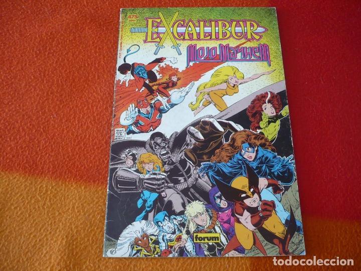 EXCALIBUR MOJO MAYHEM ( CLAREMONT ARTHUR ADAMS ) ¡MUY BUEN ESTADO! MARVEL FORUM PRESTIGIO 8 (Tebeos y Comics - Forum - Prestiges y Tomos)