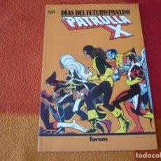Cómics: LA PATRULLA X DIAS DEL FUTURO PASADO ( BYRNE) ¡BUEN ESTADO! MARVEL FORUM PRESTIGIO 30. Lote 174323730