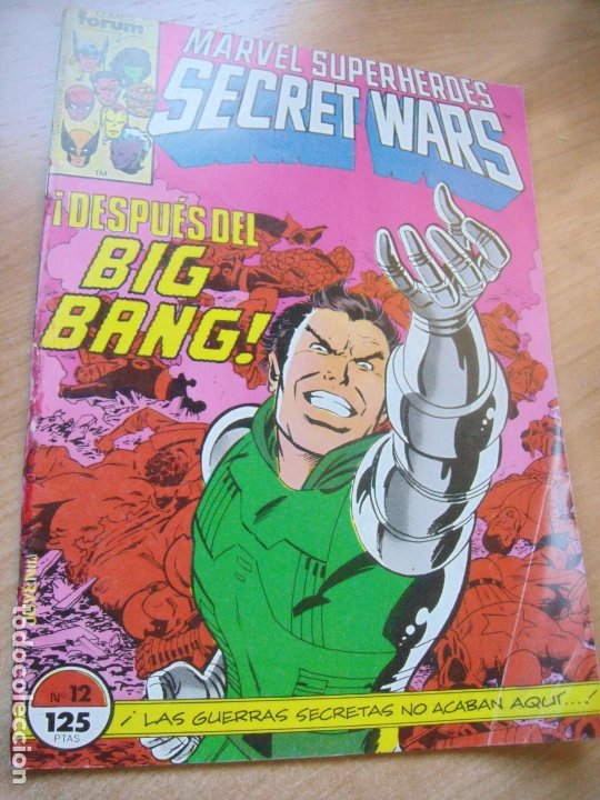 Cómics: SECRET WARS Nº 12 - ED. FORUM - Foto 1 - 174336555
