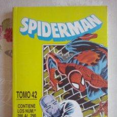 Cómics: FORUM - SPIDERMAN TOMO 42 RETAPADO CON LOS NUM. 286 AL 290 . MUY BUEN ESTADO. Lote 174380095