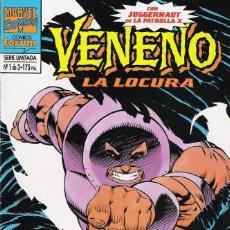 Cómics: VENENO LA LOCURA SERIE LIMITADA 3 NÚMEROS MARVEL-FORUM 1994. Lote 174417242
