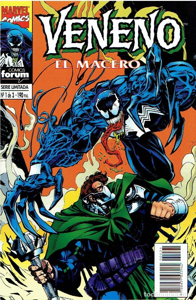 VENENO EL MACERO SERIE LIMITADA 3 NÚMEROS MARVEL-FORUM 1995 (Tebeos y Comics - Forum - Otros Forum)