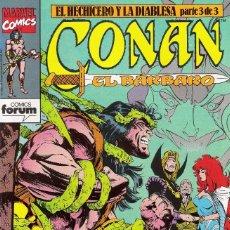 Cómics: CONAN EL BÁRBARO - MARVEL FORUM NÚMEROS DEL 181 AL 184 PUBLICADOS EN 1992. Lote 174420843