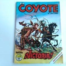 Cómics: EL COYOTE, Nº9 ¡VICTORIA! DE J. MALLORQUÍ. Lote 174446325