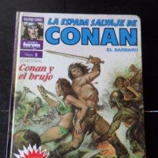 Cómics: SUPER CONAN Nº 2 2 ª EDICION TAPA DURA LOMO DE COLOR MORADO. Lote 174474340
