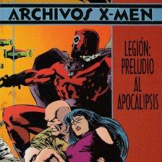 Cómics: ARCHIVOS X-MEN LEGIÓN: PRELUDIO AL APOCALIPSIS ED FORUM DICIEMBRE DE 1995. Lote 174485423