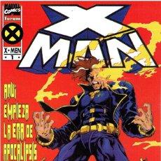 Cómics: X-MAN (LA ERA DE APOCALIPSIS) MINISERIE DE 4 NÚMEROS MARVEL-FORUM 1995-1996. Lote 174510162