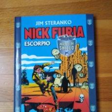 Cómics: NICK FURIA SCORPIO STERANKO TOMO. Lote 174585383