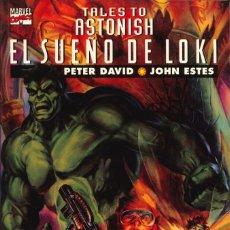 Cómics: TALES TO ASTONISH. EL SUEÑO DE LOKI - FORUM / COL. PRESTIGIO (VOL. 2) NÚMERO 5. Lote 174680652