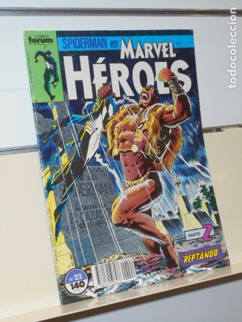 Cómics: SPIDERMAN EN MARVEL HEROES Nº 22 PARTE 2 REPTANDO - FORUM - - Foto 1 - 174984422