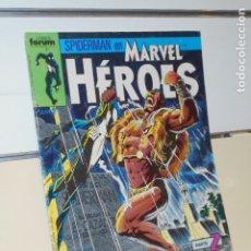 Cómics: SPIDERMAN EN MARVEL HEROES Nº 22 PARTE 2 REPTANDO - FORUM -. Lote 174984422