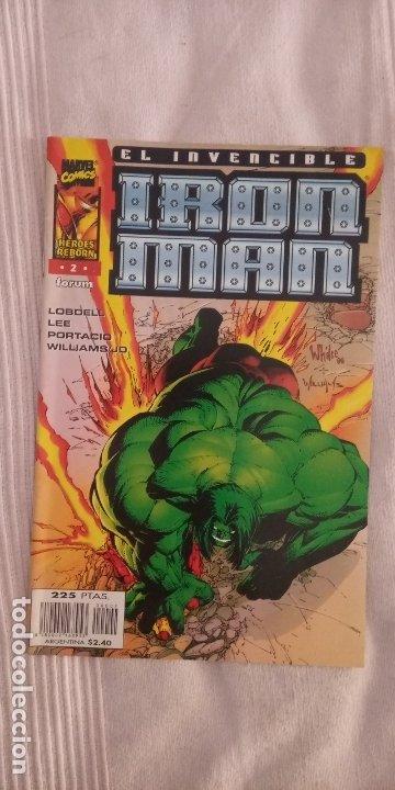 HEROES REBORN - IRON MAN VOL 4 Nº2 (Tebeos y Comics - Forum - Iron Man)