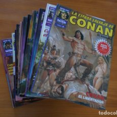 Cómics: SUPER CONAN - COMPLETA - 16 TOMOS - SEGUNDA EDICION - FORUM - TAPA DURA (GK). Lote 175026084