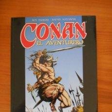 Cómics: CONAN EL AVENTURERO - ROY THOMAS, RAFAEL KAYANAN - FORUM (AS). Lote 175028209