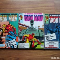 Fumetti: IRON MAN VOL. 1 Nº 6 AL 20 (LOTE 15 NÚMEROS SEGUIDOS) FORUM. Lote 175040833