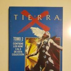 Comics : TIERRA X - RETAPADO TOMO 2 - NUMEROS 3 / 4 / 5 / 6 - FORUM . Lote 175051290