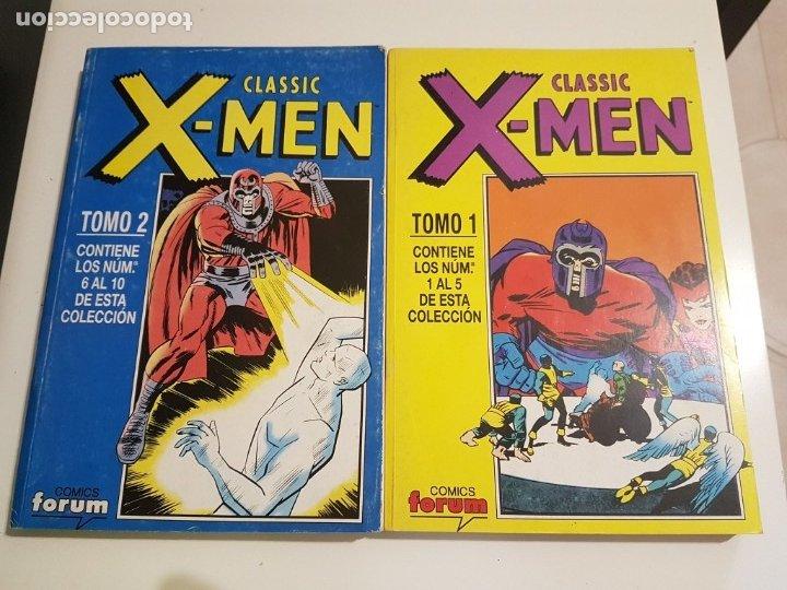 CLASSIC X-MEN - RETAPADO TOMOS 1 Y 2 - COMPLETO - FORUM (Tebeos y Comics - Forum - Retapados)