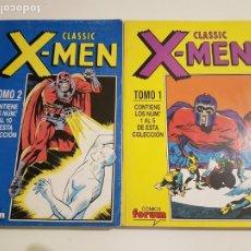 Cómics: CLASSIC X-MEN - RETAPADO TOMOS 1 Y 2 - COMPLETO - FORUM. Lote 175055500