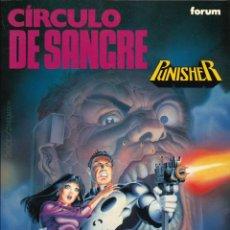 Cómics: PUNISHER. CÍRCULO DE SANGRE - FORUM / COLECCIÓN OBRAS MAESTRAS NÚMERO 9. Lote 175072023