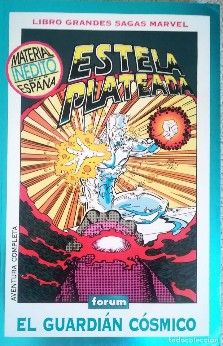 ESTELA PLATEADA MUERTE EN EL ESPACIO Y GARDIAN COSMICO (Tebeos y Comics - Forum - Prestiges y Tomos)