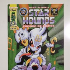 Cómics: STAR HOUNDS 1 - FANHUNTER - CELS PIÑOL - FORUM. Lote 175238150