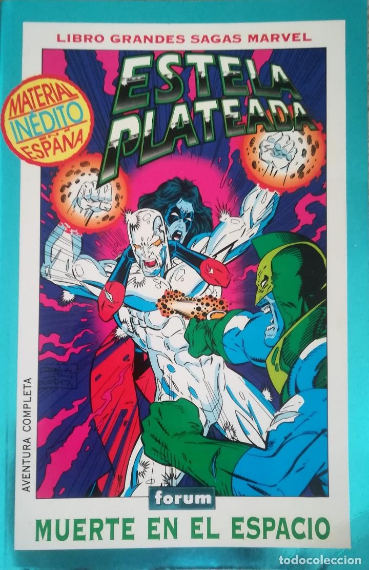 Cómics: ESTELA PLATEADA MUERTE EN EL ESPACIO Y GARDIAN COSMICO - Foto 2 - 175199513