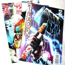 Cómics: THOR, VOLUMEN 2, (VENGADORES MARVELUTION) NºS 01,02 Y 04. (FORUM 1996 ).. Lote 175398260