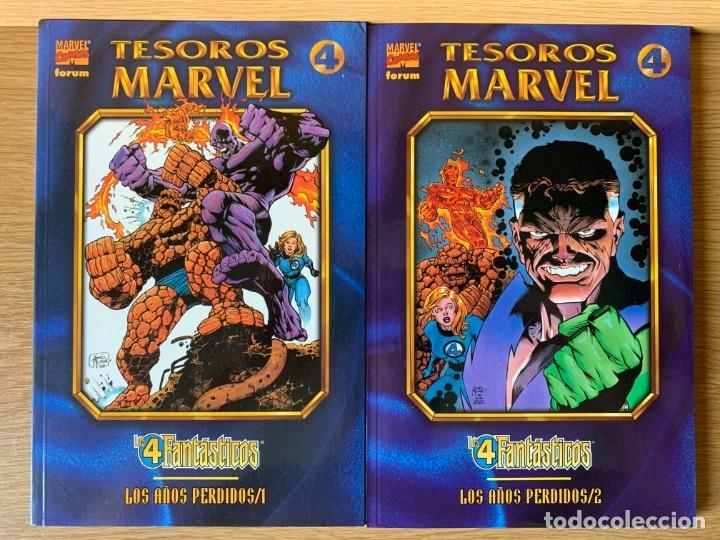 LOS 4 FANTASTICOS - LOS AÑOS PERDIDOS - COMPLETA - Nº 1 Y 2 - TESOROS MARVEL (Tebeos y Comics - Forum - 4 Fantásticos)