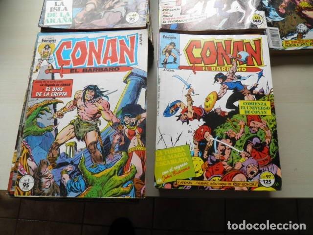 LOTE DE CONAN DE EDITORIAL FORUM (Tebeos y Comics - Forum - Conan)