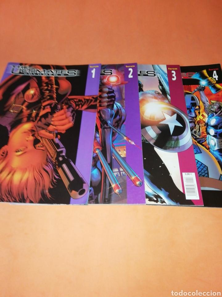 THE ULTIMATES. VOLUMEN 2. 4 NUMEROS. COMPLETA. (Tebeos y Comics - Forum - Vengadores)