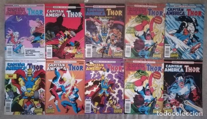 MARVE TWO IN ONE CAPITAN AMERICA & THOR 8 GRAPAS 1 RETAPADO (Tebeos y Comics - Forum - Capitán América)