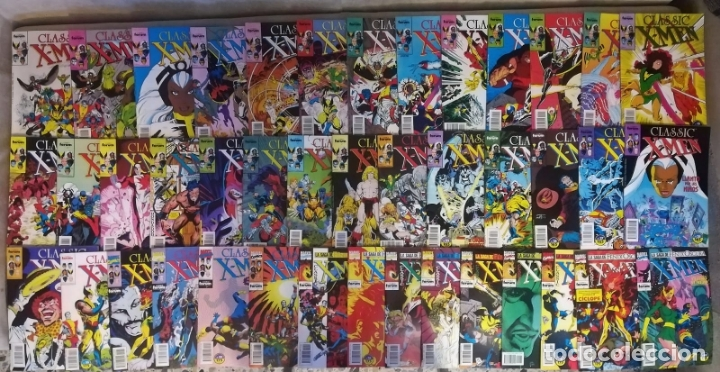 CLASSIC X-MEN CASI COMPLETA FALTA EL 25 --- 42 GRAPAS (Tebeos y Comics - Forum - Otros Forum)