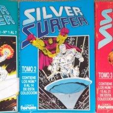 Cómics: SILVER SURFER VOL 2 COMPLETA 3 RETAPADOS DEL 1 AL 21. Lote 175494315