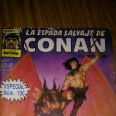 Cómics: LA ESPADA SALVAJE DE CONAN. ESPECIAL NÚM. 100, CON 116 PÁGS., 96 A TODO COLOR.. Lote 175504684