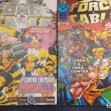 Cómics: X-FORCE/CABLE (2 ESPECIALES) - FORUM. Lote 223682176
