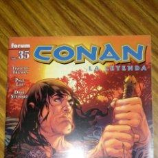Cómics: CONAN LA LEYENDA 35, GOBERNARÁN DE NUEVO, DE TIMOTHY TRUMAN Y PAUL LEE.. Lote 175549172