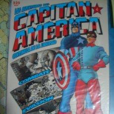 Cómics: LAS AVENTURAS DEL CAPITÁN AMÉRICA CENTINELA DE LA LIBERTAD #1-4 (FORUM, 1992). Lote 175577258
