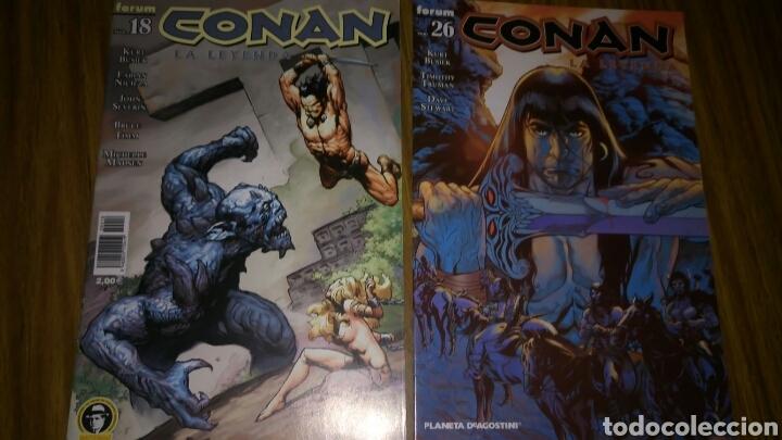 Cómics: Conan la leyenda, 18,26,27 y 28, Sueltos a 3,50 €.. - Foto 2 - 169294561