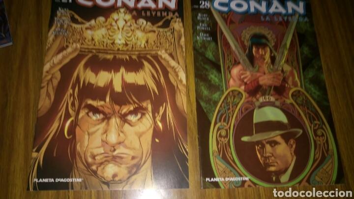 Cómics: Conan la leyenda, 18,26,27 y 28, Sueltos a 3,50 €.. - Foto 3 - 169294561