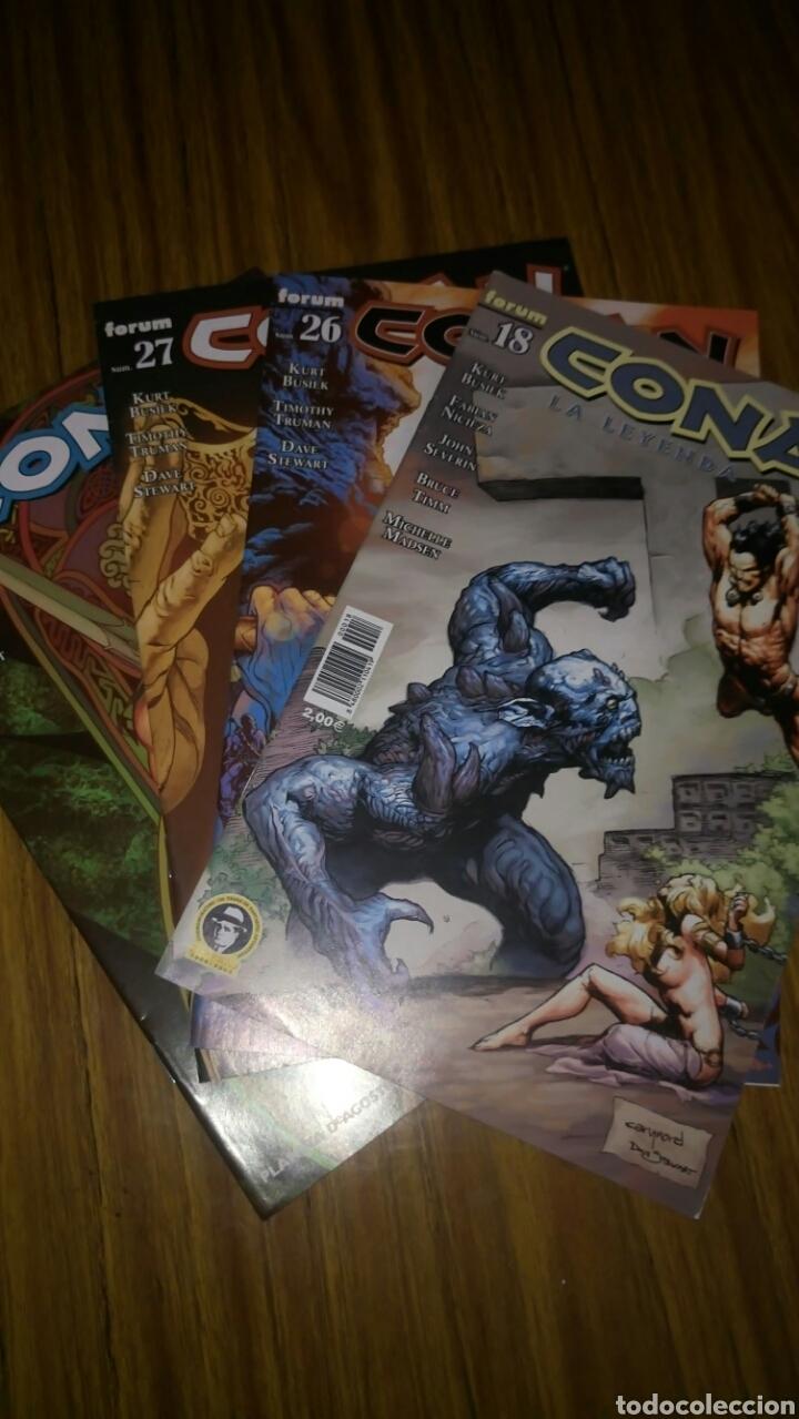 CONAN LA LEYENDA, 18,26,27 Y 28, SUELTOS A 3,50 €.. (Tebeos y Comics - Forum - Conan)