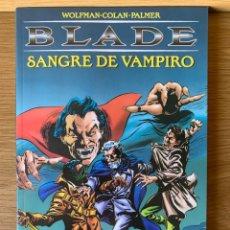 Comics : BLADE: SANGRE DE VAMPIRO - WOLFMAN·COLAN·PALMER. Lote 175596998