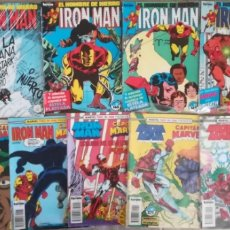 Cómics: IRON MAN VOL 1 3 RTAPADOS 8 GRAPAS. Lote 175655573