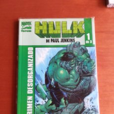 Cómics: HULK DE PAUL JENKINS 1 - CRIMEN DESORGANIZADO. Lote 175656710
