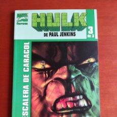 Cómics: HULK DE PAUL JENKINS 3 - ESCALERA DE CARACOL. Lote 175656892