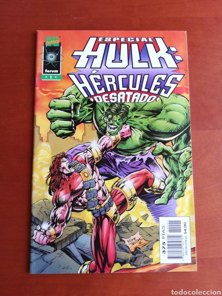 ESPECIAL HULK : HÉRCULES DESATADO ( FORUM) (Tebeos y Comics - Forum - Hulk)