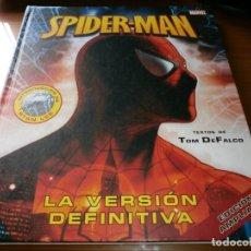 Cómics: SPIDER-MAN. LA VERSIÓN DEFINITIVA - EDICIÓN AMPLIADA - TOM DE FALCO - MARVEL / EDICIONES B -2007.. Lote 175698918