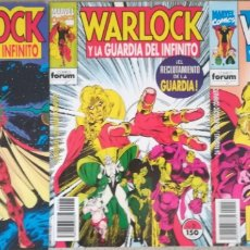 Cómics: WARLOCK Y LA GUARDIA DEL INFINITO 1,2,3. Lote 175759114