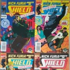 Cómics: NICK FURIA NUEVA ETAPA 1,2,3,4. Lote 175759347