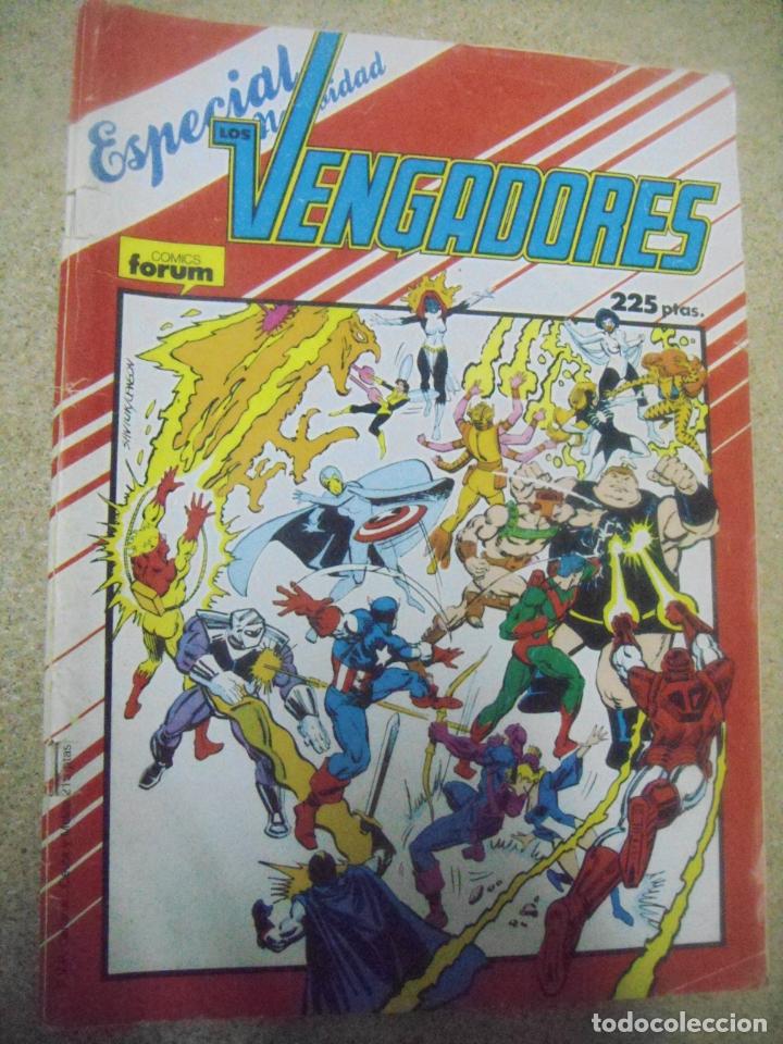 LOS VENGADORES - ESPECIAL INVIERNO - ED. FORUM (Tebeos y Comics - Forum - Otros Forum)