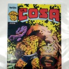 Cómics: LA COSA. Lote 175933333